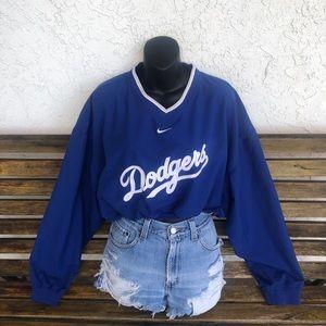 Nike | Los Angeles Dodgers Cropped Crewneck